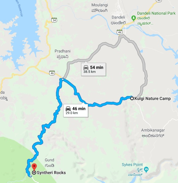 bike ride and stay in dandeli